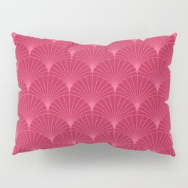 Mermaid Fans: Raspberry Pillow Sham