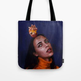 my lover gave me my heart for chirstmas Tote Bag