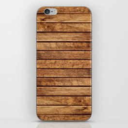 PLANKS iPhone Skin