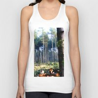 woods Tank Tops featuring Woods by madbiffymorghulis
