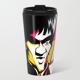 kung fu master Bruce Travel Mug