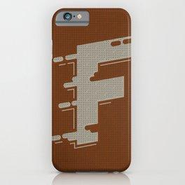 BOLD 'F' DROPCAP iPhone Case