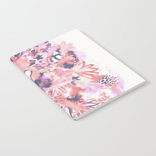 Pastel Flowers Notebook