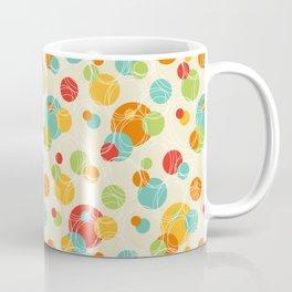 Vintage Geometric Circle Pattern Coffee Mug