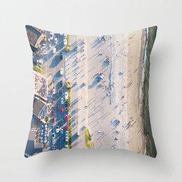 Alki Beach Throw Pillow