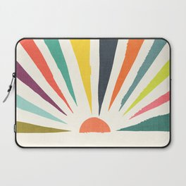 Rainbow ray Laptop Sleeve