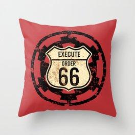 Execute Order 66 Throw Pillow