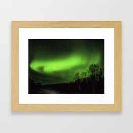 Alaskan Nights Framed Art Print