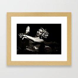 Feel The Rhythm. Framed Art Print