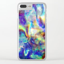 Holo Glow Clear iPhone Case