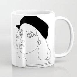 rafael santi artist by one line Coffee Mug