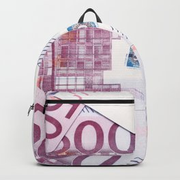 500 Euros bills Backpack