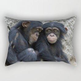 Chimpanzee 002 Rectangular Pillow