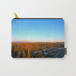 Mt. Rainier and the Moon Carry-All Pouch