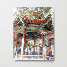 Beijing Covered Gallery | Galerie couverte Metal Print