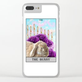 The Bunny Tarot Clear iPhone Case