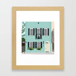Charleston No. 2 Framed Art Print