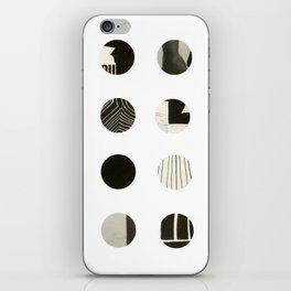 Dots Noir iPhone Skin