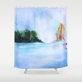 Dreaming Of Nicaragua Shower Curtain