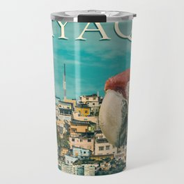 Guayaquil Touristic Postal Design Travel Mug