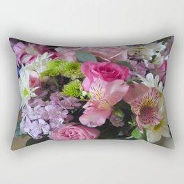 Mixed Flowers Rectangular Pillow