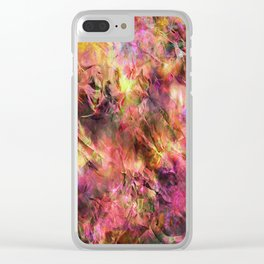 Colours ZZ R Clear iPhone Case