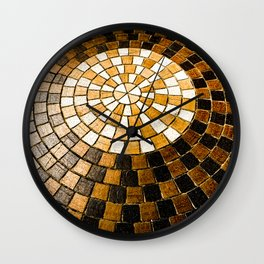 Sunburst Sojourn Wall Clock