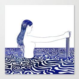 Water Nymph XXVI Canvas Print