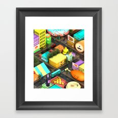 Voracious Digest Framed Art Print