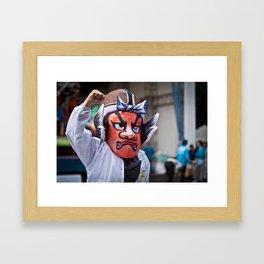 Harajuku Festival Framed Art Print