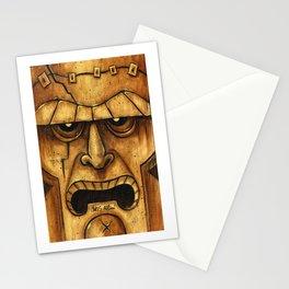 TIKI Frankenstein Stationery Cards