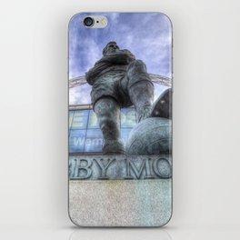 Bobby Moore Statue Wembley Stadium iPhone Skin