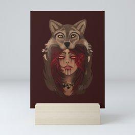 Wolf Woman Mini Art Print