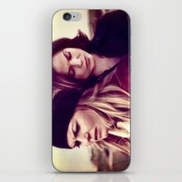 swan queen iPhone & iPod Skins featuring Swan Queen - Lost on Land by Two Swen Idiots