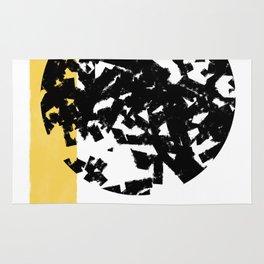 Abstract Moon #society6 #abstractart Rug