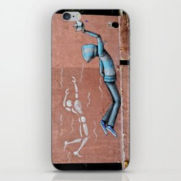 The Floating Man iPhone Skin