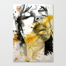 splash portraits Canvas Print