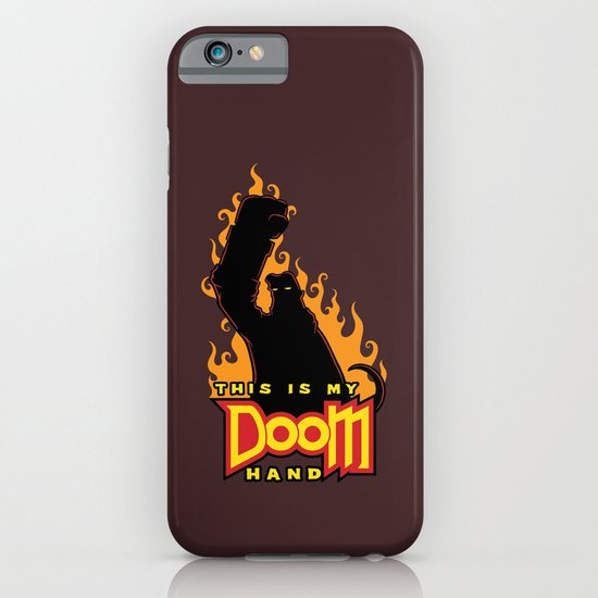 This is My Doom Hand iPhone & iPod Case