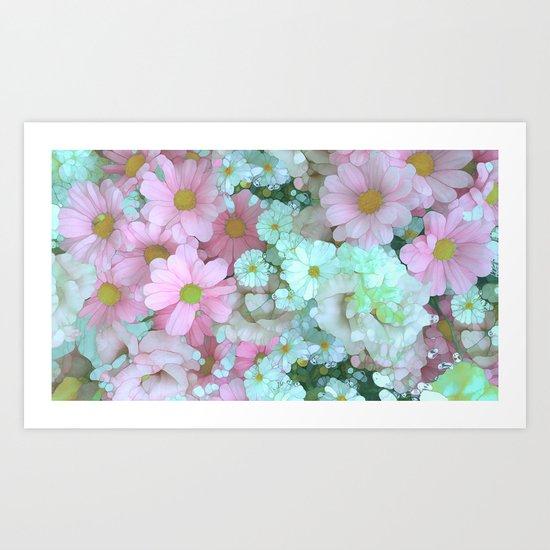 Flower Sorbet Art Print