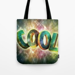"""COOL"" Type - BLUE Tote Bag"