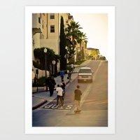skate Art Prints featuring skate. by Andre Elliott
