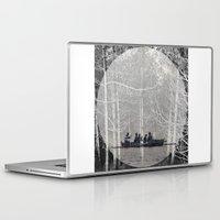 moonrise Laptop & iPad Skins featuring MOONRISE by Mari