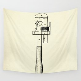 Wrench-1869 Wall Tapestry