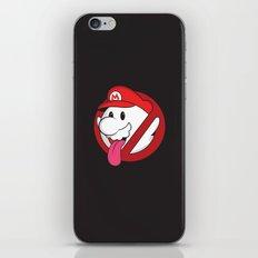 Boo ya gonna call? iPhone & iPod Skin