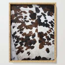 Cowhide Serving Tray