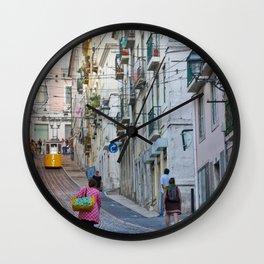 Lisbon Wall Clock