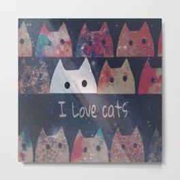 cat-127 Metal Print