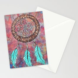 DREAM CATCHER Stationery Cards