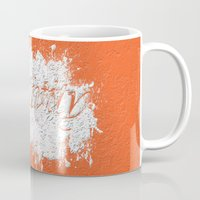typo Mugs featuring Creativity Typo by Sonia Marazia