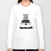 """honda Long Sleeve T-shirts featuring ONLY THE BEST """"HONDA"""" by Consuelo Castaneda"""